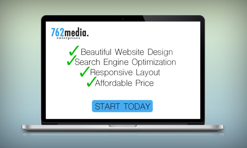 Beautiful Website Design by 762 Media Enterprises